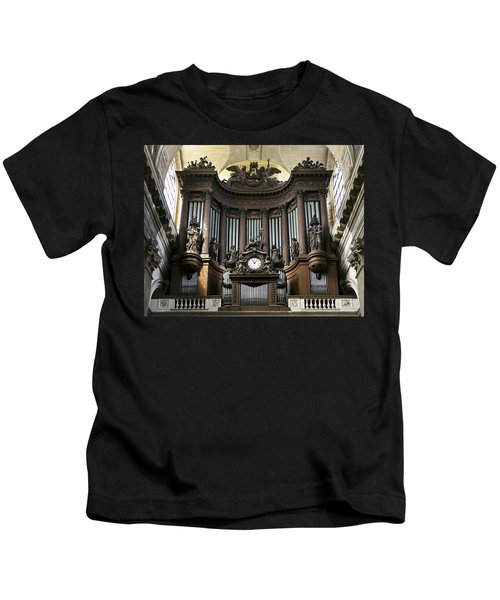 Pipe Organ In St Sulpice Kids T-Shirt