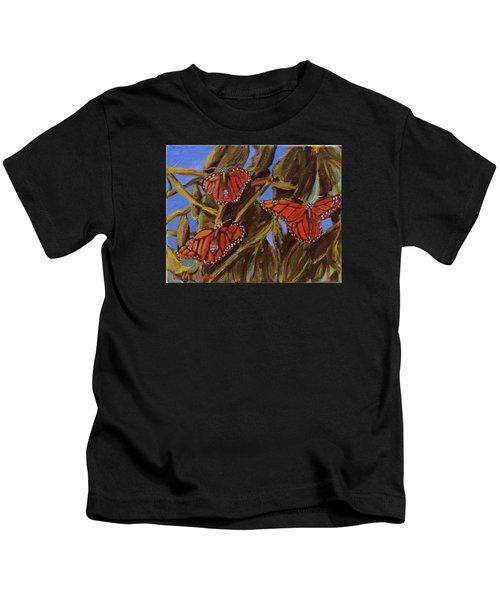 Pismo Monarchs Kids T-Shirt