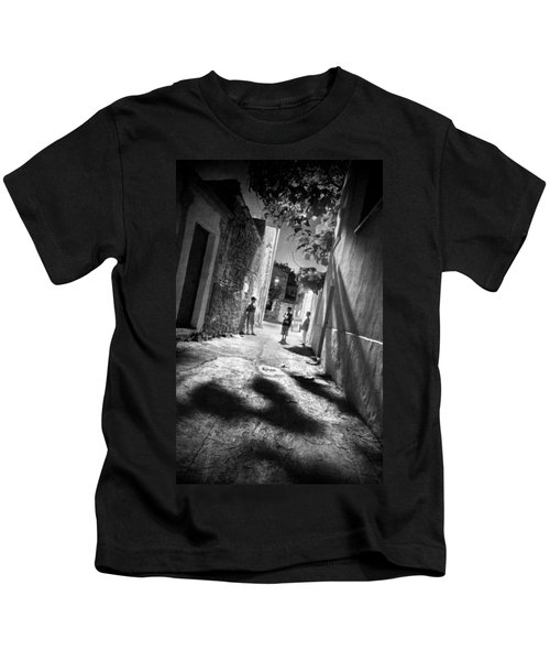 Playground Shadows Kids T-Shirt