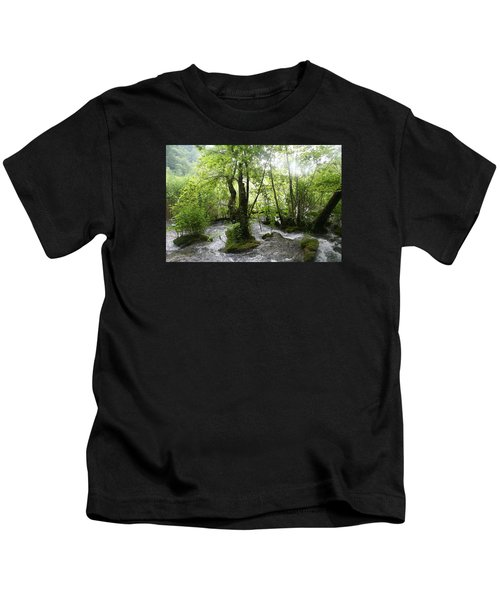 Plitvice Lakes Kids T-Shirt