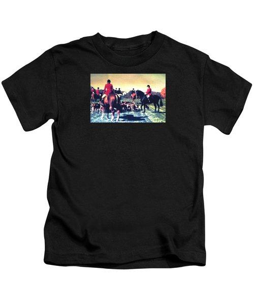 Plum Run Hunt Opening Day Kids T-Shirt