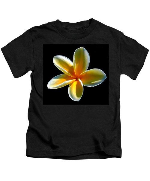 Plumeria Against Black Kids T-Shirt