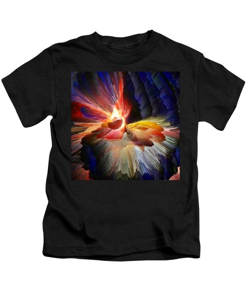 Point Of Impact - Abstract Dancers Kids T-Shirt