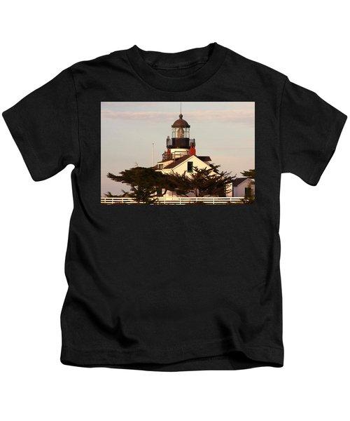 Point Pinos Lighthouse Kids T-Shirt