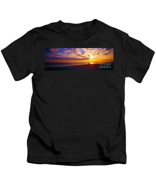 Ponce Inlet Fl Sunrise  Kids T-Shirt