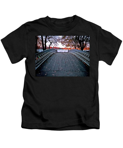 Pond Footbridge Kids T-Shirt