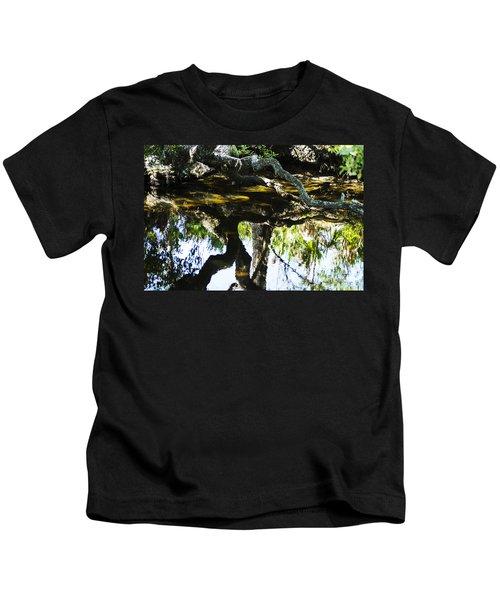 Pond Reflection Kids T-Shirt