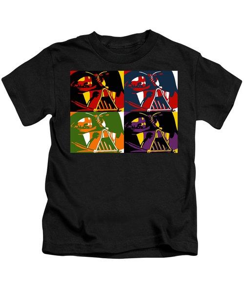 Pop Art Vader Kids T-Shirt