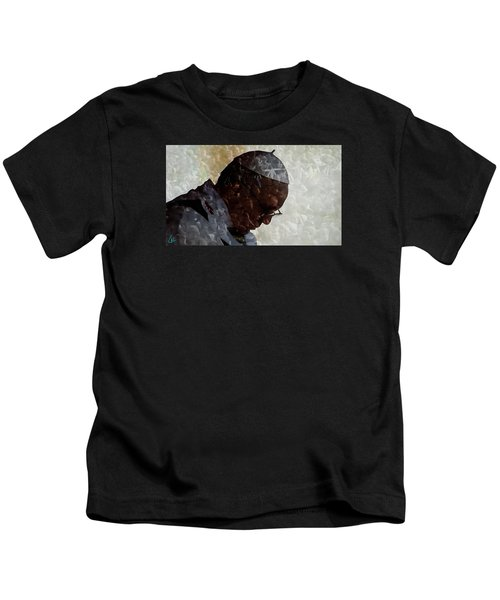 Kids T-Shirt featuring the photograph Pope Francis Inauguration Vatican 19 February 2013  by Colette V Hera  Guggenheim