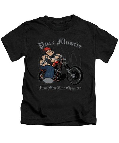 Popeye - Pure Muscle Kids T-Shirt