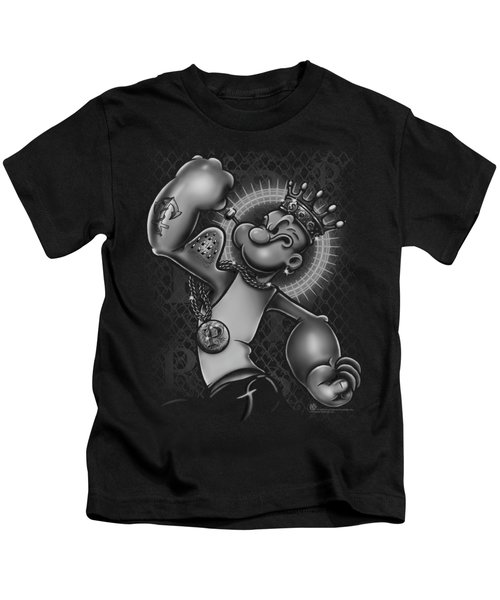 Popeye - Spinach King Kids T-Shirt by Brand A