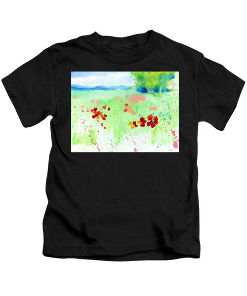 Poppy Passion Kids T-Shirt
