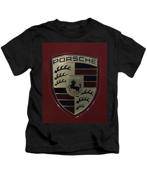 Porsche Emblem Kids T-Shirt