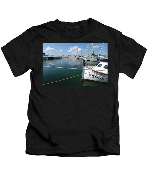 Port Da Savina, Formentera, Balearic Kids T-Shirt