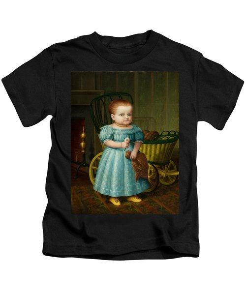 Portrait Of Sally Puffer Sanderson Kids T-Shirt