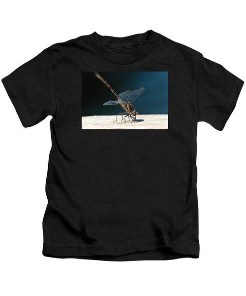 Posing Dragonfly Kids T-Shirt