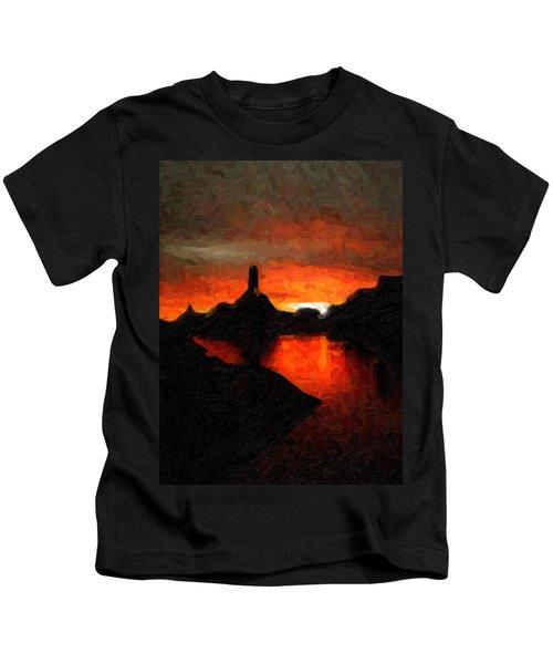 Powell Sunset Kids T-Shirt