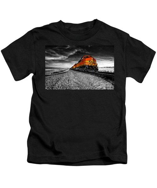 Power Of The Santa Fe  Kids T-Shirt