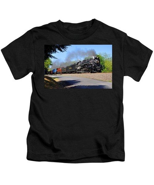Powerful Nickel Plate Berkshire Kids T-Shirt