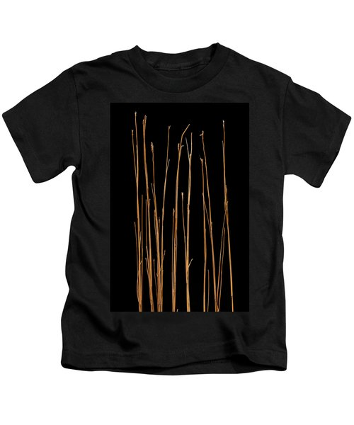Prairie Grass Number 3 Kids T-Shirt