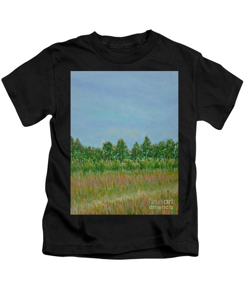 Prairie Morning Light Kids T-Shirt