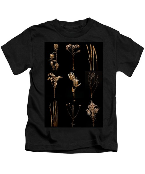 Prairie Plant Still Life Kids T-Shirt