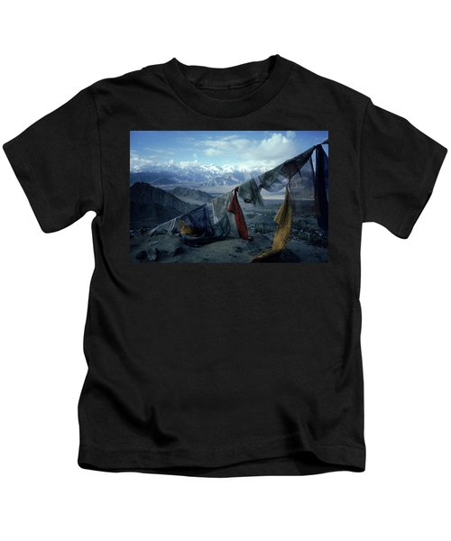Prayer Flags Leh Ladakh Kids T-Shirt