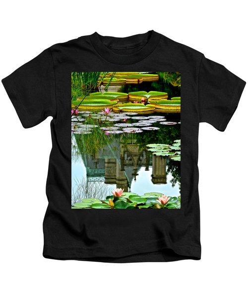 Prince Charmings Lily Pond Kids T-Shirt