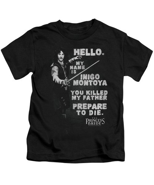 Princess Bride - Hello Again Kids T-Shirt