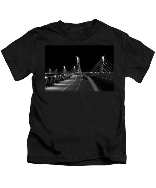 Ptuj Bridge Bw Kids T-Shirt