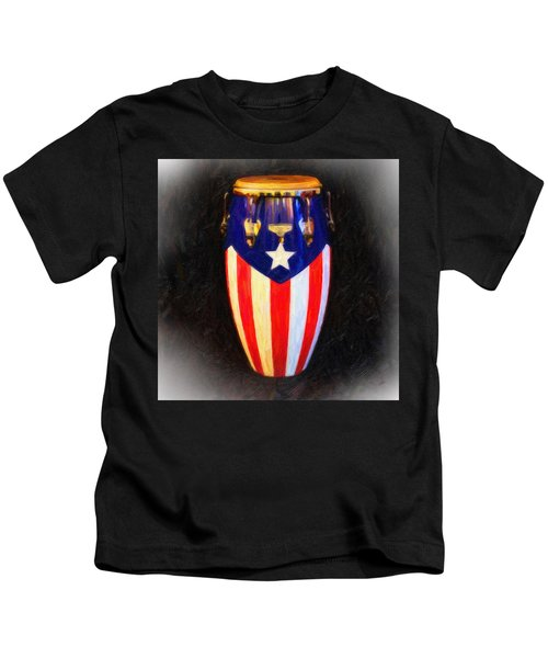 Puerto Rican Bomba Kids T-Shirt