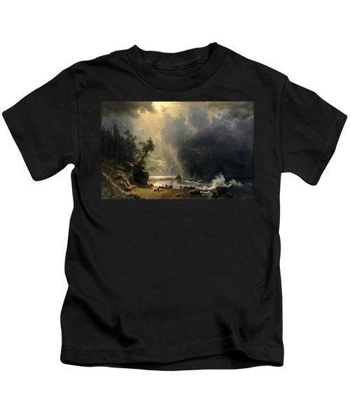 Puget Sound On The Pacific Coast Kids T-Shirt