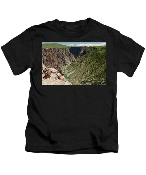 Pulpit Rock Overlook Black Canyon Of The Gunnison Kids T-Shirt