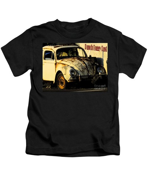 Punch Buggy Rust Kids T-Shirt