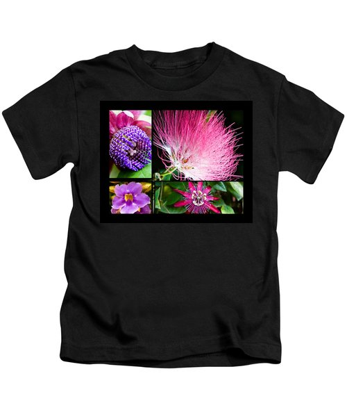 Purple Bouquet Kids T-Shirt