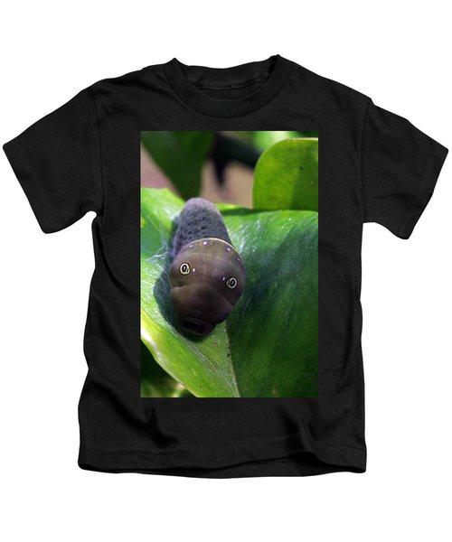 Purple Polkadots Kids T-Shirt