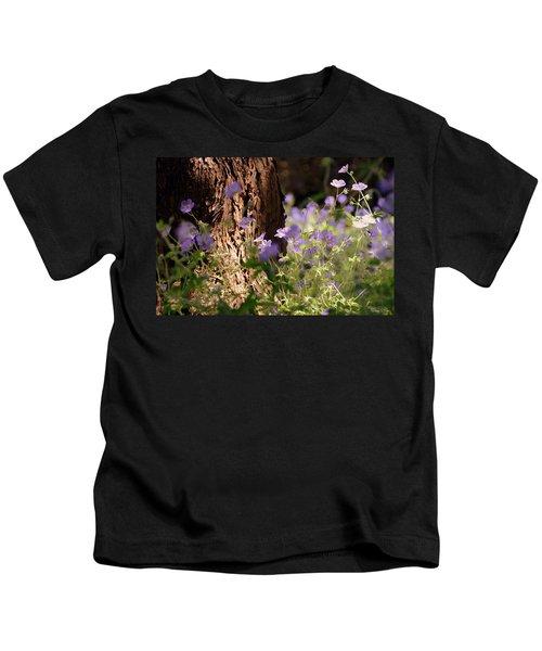 Purple Splash Kids T-Shirt