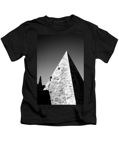 Pyramid Of Cestius Kids T-Shirt