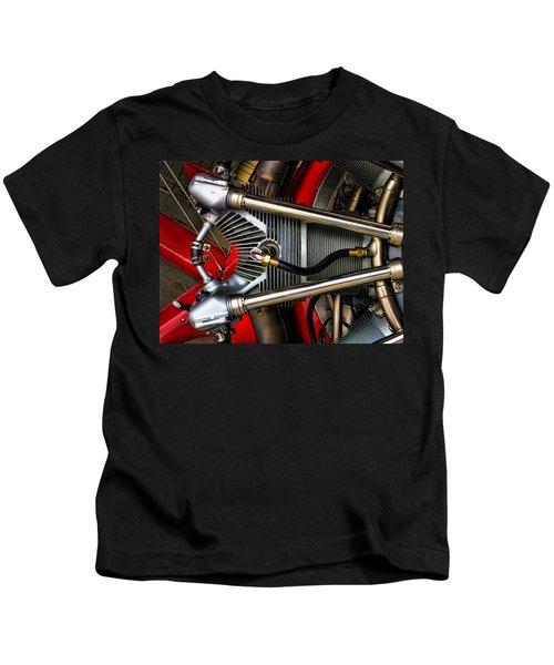 Radial Engine Kids T-Shirt