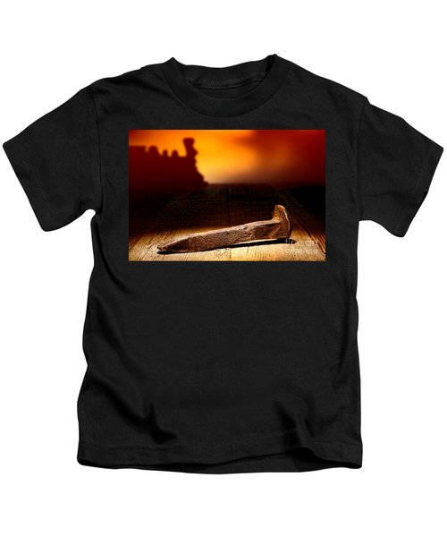 Railroad Spike Kids T-Shirt