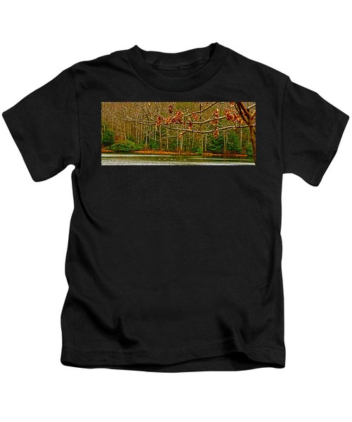 Rain At The Pumpie Kids T-Shirt