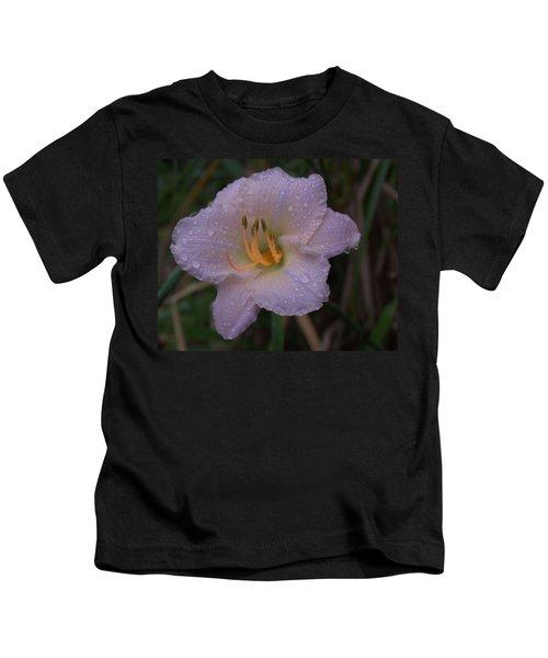 Rain Daylilly 2 Kids T-Shirt