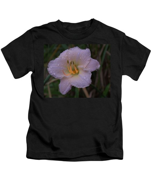 Rain Daylilly 2 Kids T-Shirt