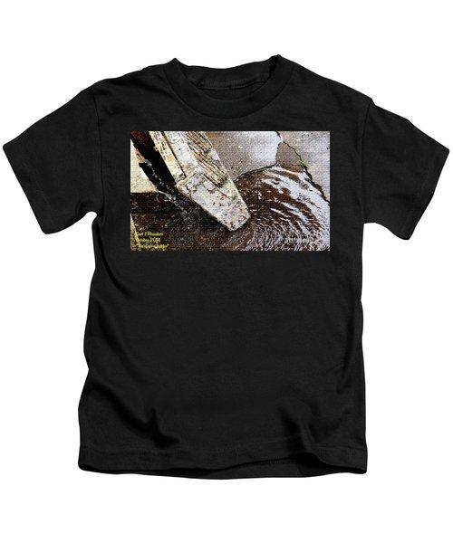 Rain On A Ladder Kids T-Shirt