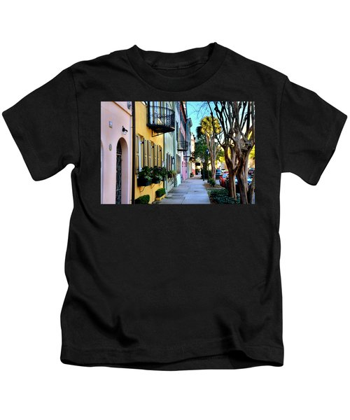 Rainbow Row Hdr Kids T-Shirt