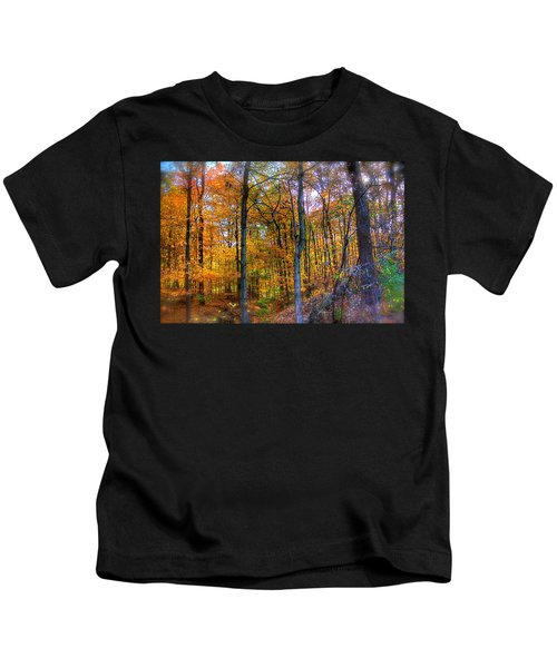 Rainbow Woods Kids T-Shirt