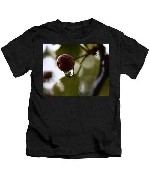 Raindrop Reflection 1 Kids T-Shirt