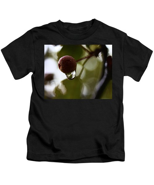 Raindrop Reflection 1 Kids T-Shirt