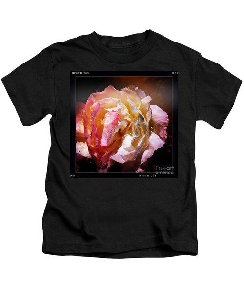 Rainy Rose Kids T-Shirt