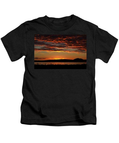 Rathtrevor Sunrise Kids T-Shirt